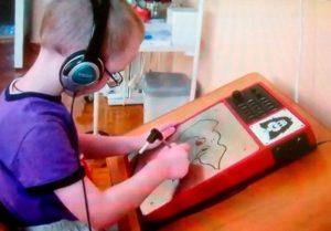 Подготовка к школе детей с нарушением зрения
