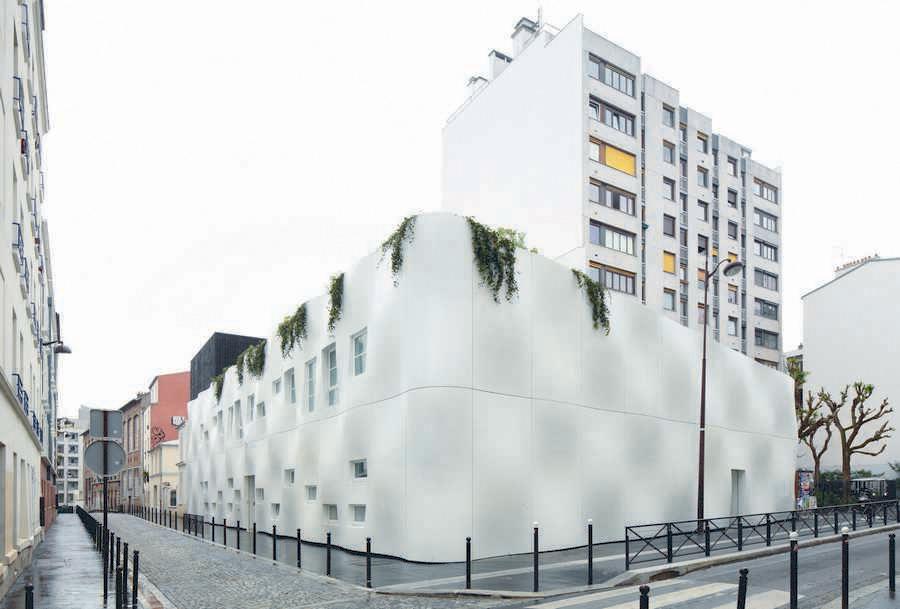 Crèche Rue Pierre Budin, Франция