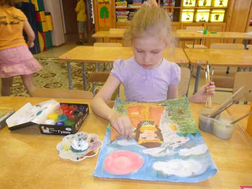Маша рисует наш край БелоярскийМаша рисует наш край Белоярский