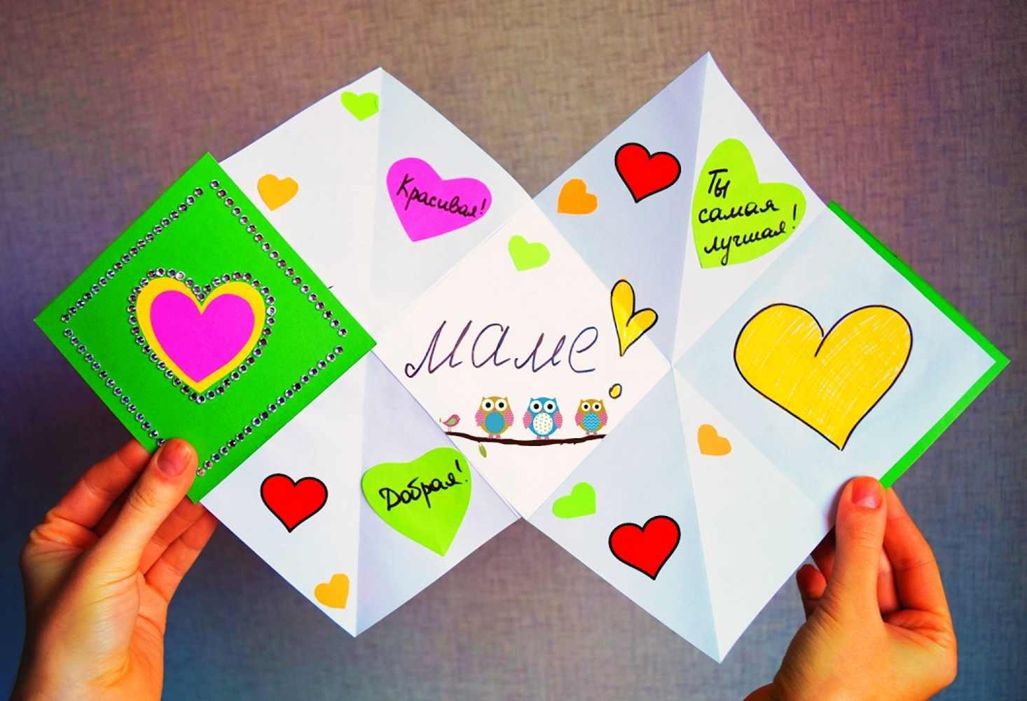 Рисунки, день матери открытки и подарки своими руками